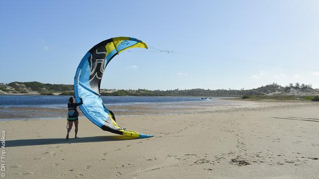 sécurité kite au Brésil