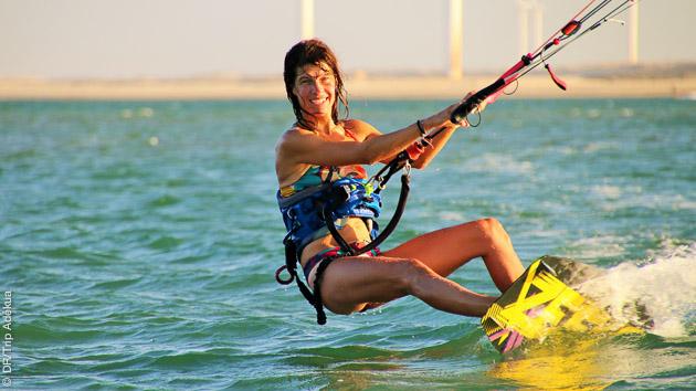 voyage avec du kite au Brésil