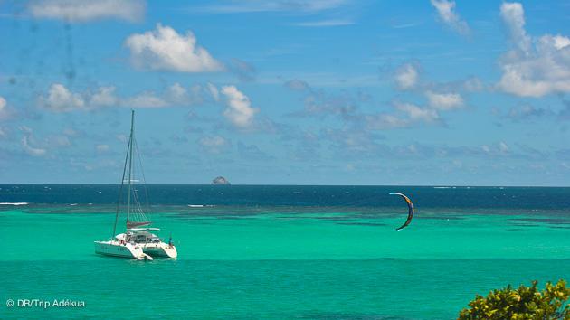 croisière kitesurf aux Antilles