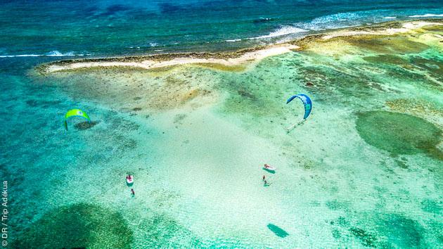 kitesurf aux Antilles