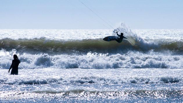 trip de kite à Essaouira en vagues