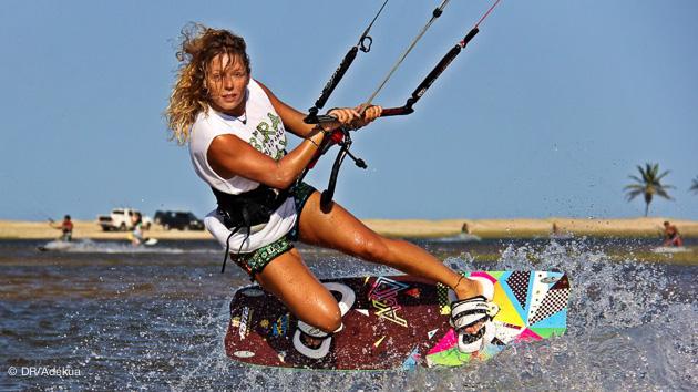 cap vert : super pour passer des vacances kitesurf en famille