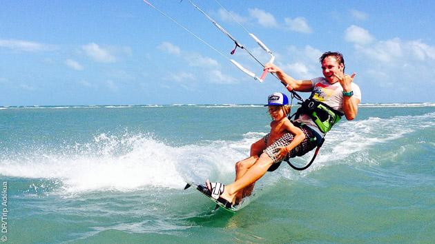 vacances kite de folie au Brésil à Pontal de Maceio