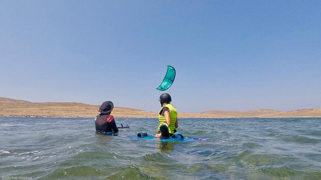 stage de kite en grèce à Lesbos