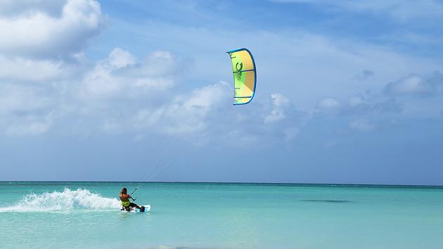 stage de kite aux Antilles à Aruba