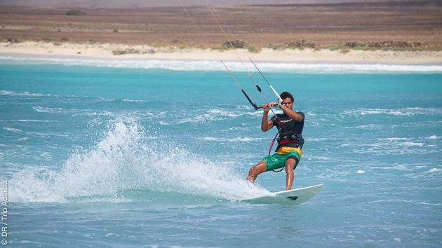 séjour kitesurf à Boa Vista au Cap Vert