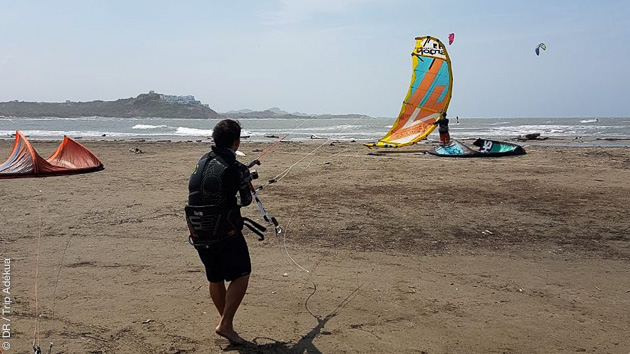 séjour kitesurf en Colombie