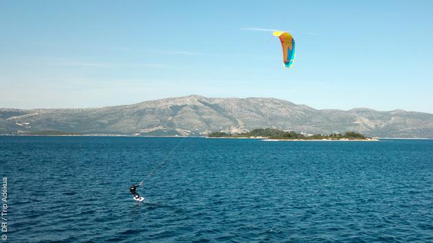 spot de kite en Croatie