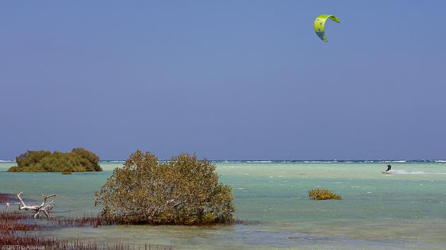 Séjour kitesurf au bord de la mer Rouge à Hamata en Egypte