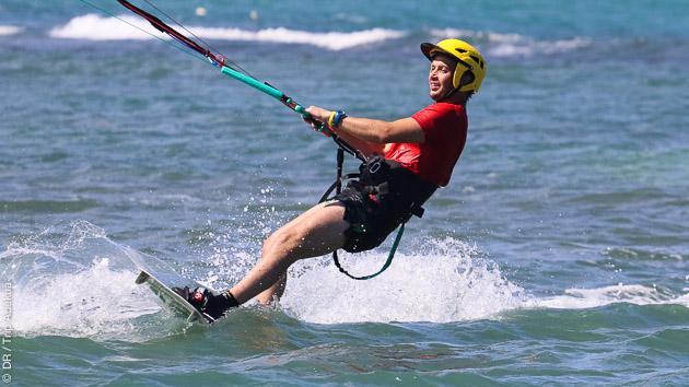 apprendre le kite aux Antilles
