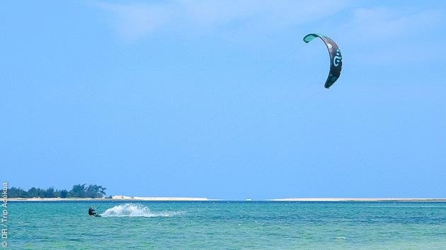 Séjour kitesurf à Bilene au Mozambique