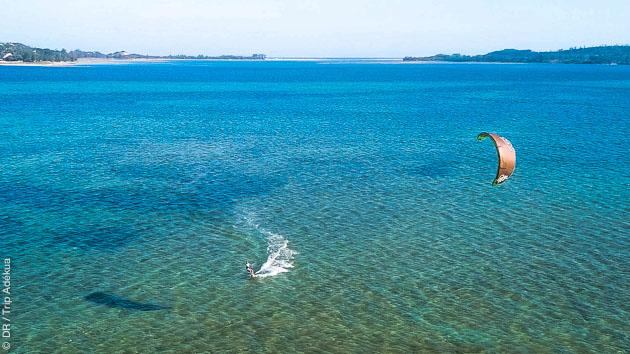 vacances kite au Mozambique à Bilene
