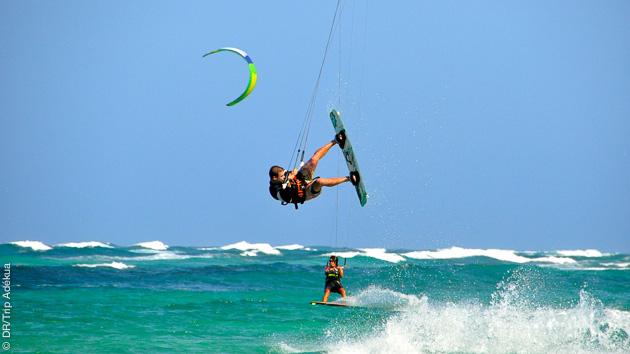 la Cap Vert, le pied pour un voyage kite à Boa Vista