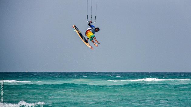 séjour kitesurf à Sal au Cap Vert