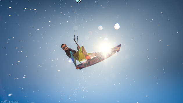 Séjour kitesurf en Grèce sur l'île de Limnos en mer Egée