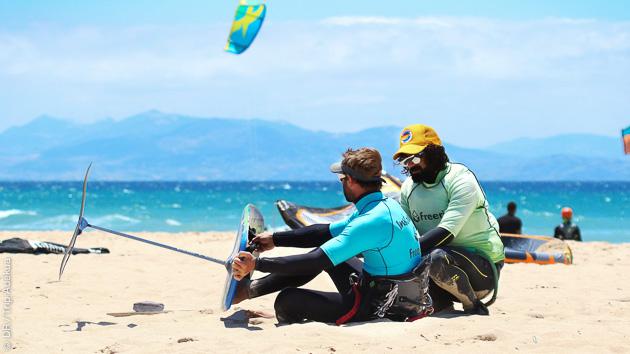 apprendre le kite foil à Tarifa