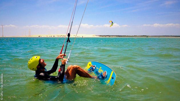 apprendre le kite au Brésil
