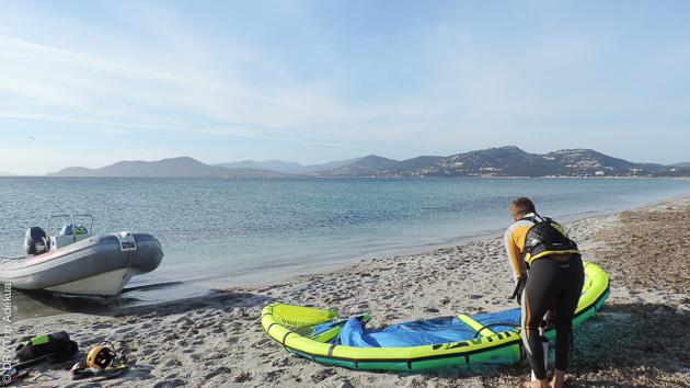 Séjour kitesurf sur mesure à l'Almanarre, Hyères, sur la Presqu'île de Giens avec François
