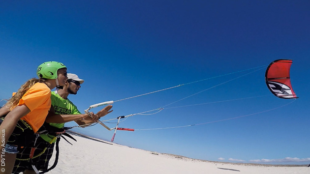 A Fuerteventura, le vent est là toute l'année pour découvrir le kite ou vous perfectionner