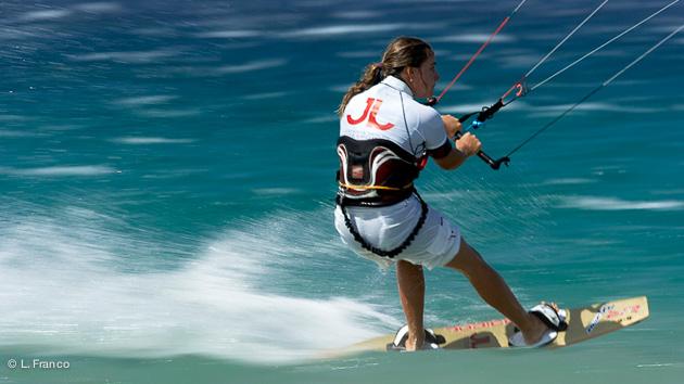 stage de kite à Tarifa avec Aurélia Herpin