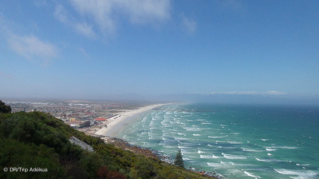 les spots de kite d'Afrique du sud