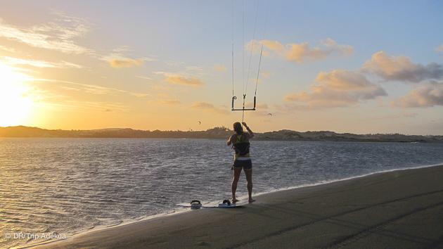 Vacances kitesurf au Brésil ! C'est maintenant ! Entre downwind et stages, profitez des meilleurs prix !