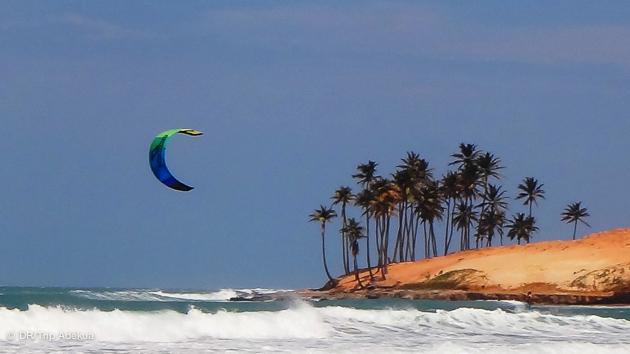 stage de kite au Brésil dans de super conditions