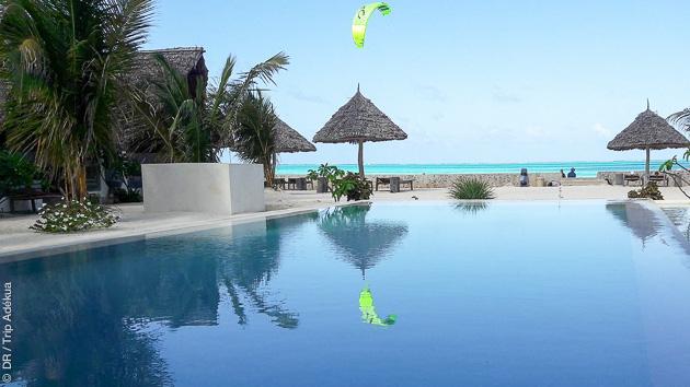 spot de kite de rêve à Zanzibar