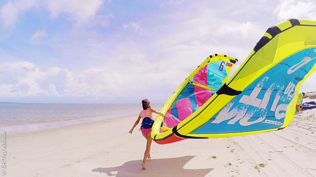 kites au Brésil
