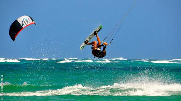 les spots de kite surf de Boa Vista