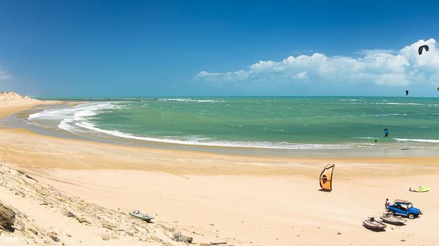 Séjour kitesurf au Brésil avec hébergement et cours