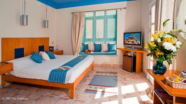 votre chambre d'hotel à el gouna pour votre stage de kite