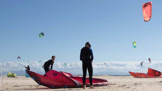 Déhooké, strapless, remontée au vent...: coaching kitesurf pour progresser sur les spots de Tarifa