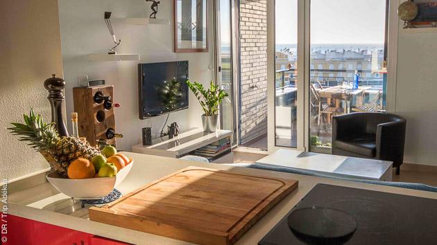 Un stage de kite à Tarifa avec logement en chambre dans un appartement
