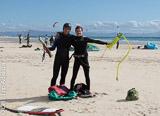 Votre coaching kite personnalisé sur les meilleurs spots de Tarifa - voyages adékua
