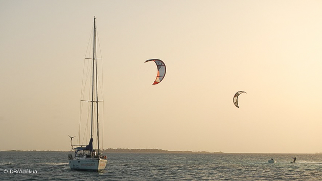 Boat trip kitesurf à Los Roques
