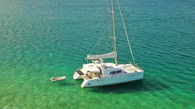 Un séjour de rêve sur un catamaran aux Antilles