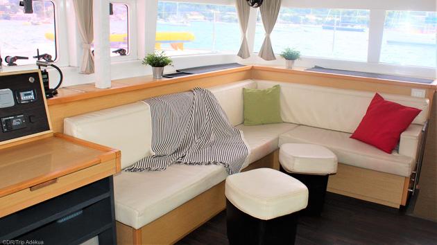 Profitez d'un séjour kitesurf exceptionnel en catamaran