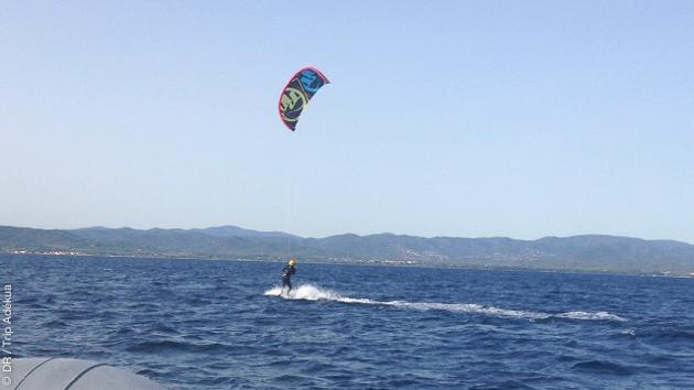 Découverte des spots de Hyères et la presqu'ile de Giens, pour des cours de kite en toute sécurité