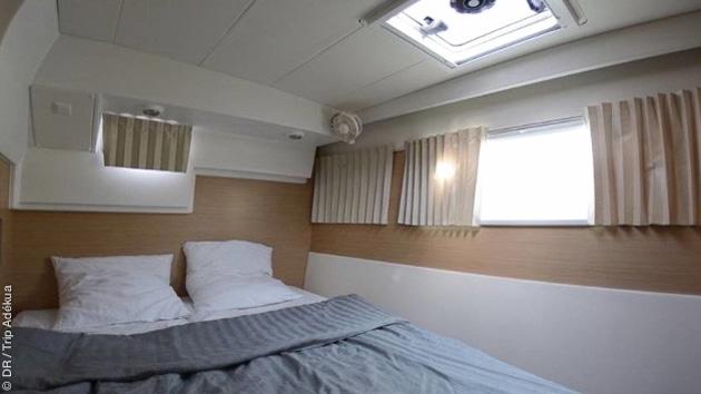 Un séjour en catamaran tout confort pour profiter au maximum de vos sessions kite à Hyères