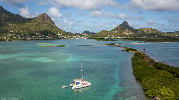 Votre séjour kite sur un voilier dans les Caraïbes