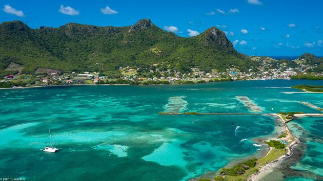 Un séjour kitesurf inoubliable en catamaran aux Caraïbes
