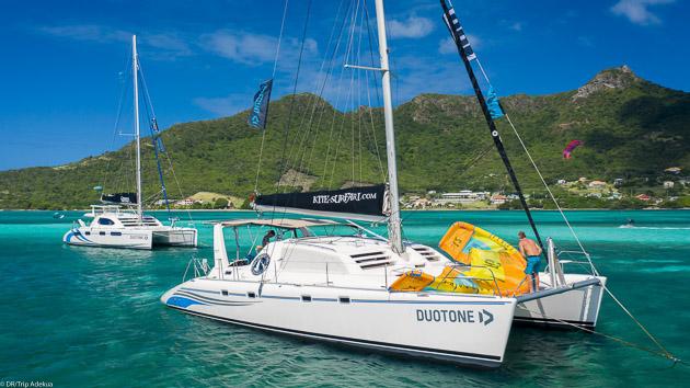 Votre catamaran grand confort pour un kitesurf trip de luxe