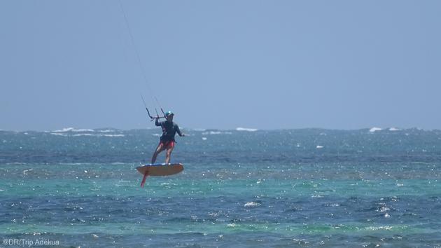 Des sessions inoubliables de kite foil aux Caraïbes