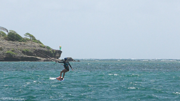 Un séjour croisière de rêve aux Caraïbes en kite foil