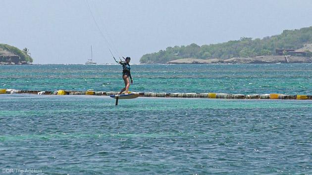 Découvrez les kite foil pendant votre croisière aux Caraïbes