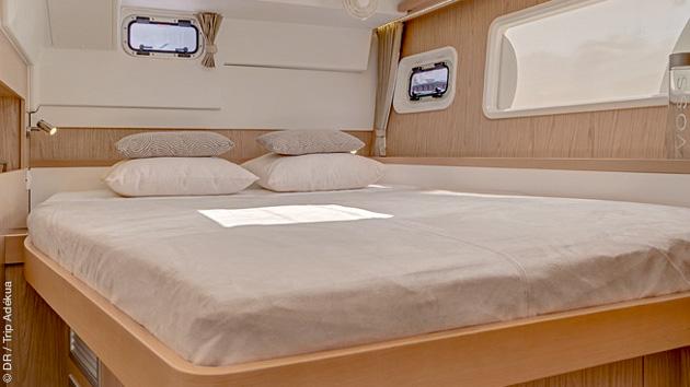 Un bateau de croisière tout confort pour un séjour kite unique
