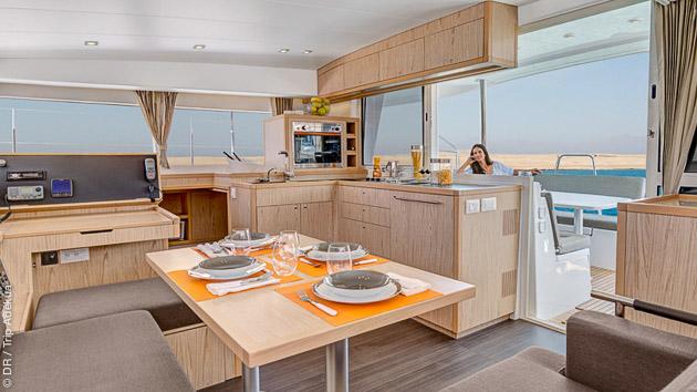 votre catamaran de luxe pour un séjour kite inoubliable en Grèce
