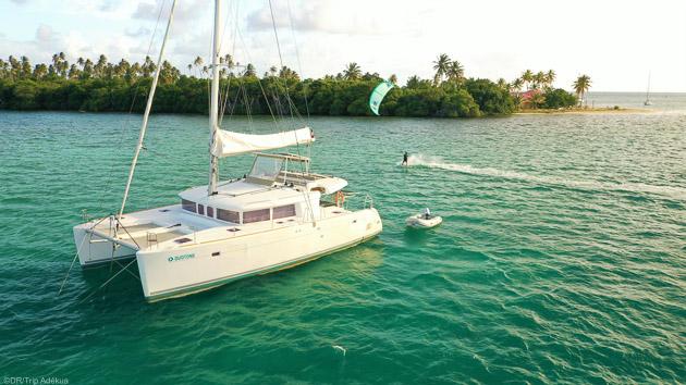 Votre croisière de rêve pour progresser en kitesurf aux Antilles