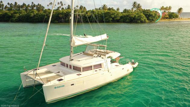 Kite et farniente sur votre voilier tout confort aux Antilles